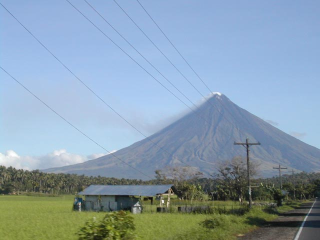 Mayon in my mind.